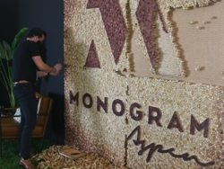 Art Installation Made of Wine Corks at FOOD & WINE Classic in Aspen