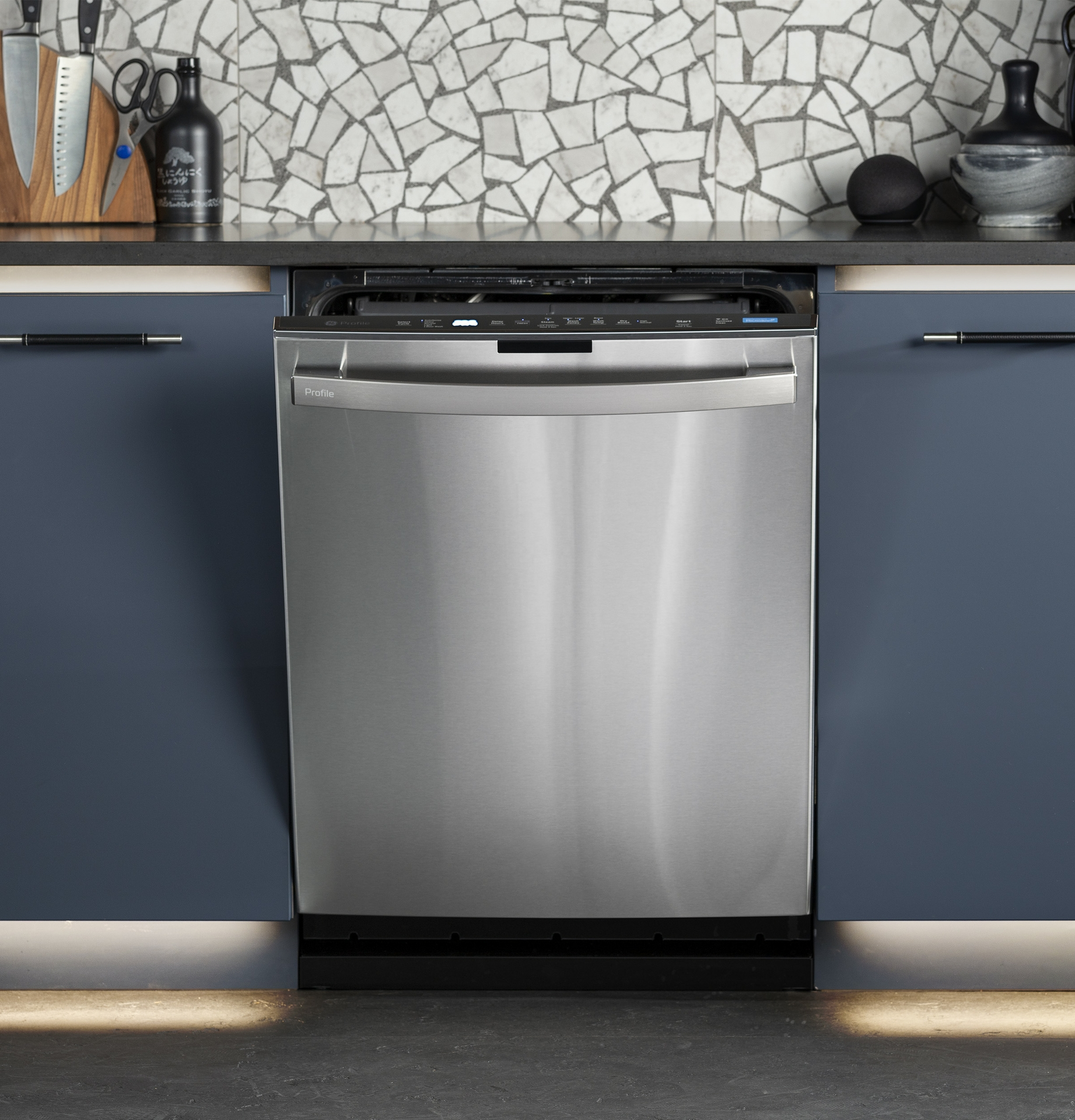 GE Profile UltraFresh System™ Dishwasher with Microban® Antimicrobial Technology