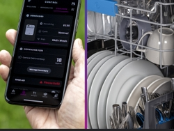 Built-In WiFi in the GE Profile UltraFresh System™ Dishwasher with Microban® Antimicrobial Technology