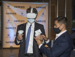 AdvanceCT's Peter Denious looks at CoCREATE concept through VR