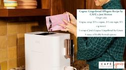 CAFÉ x Jeni Britton Cognac Gingerbread AffogatoRecipe