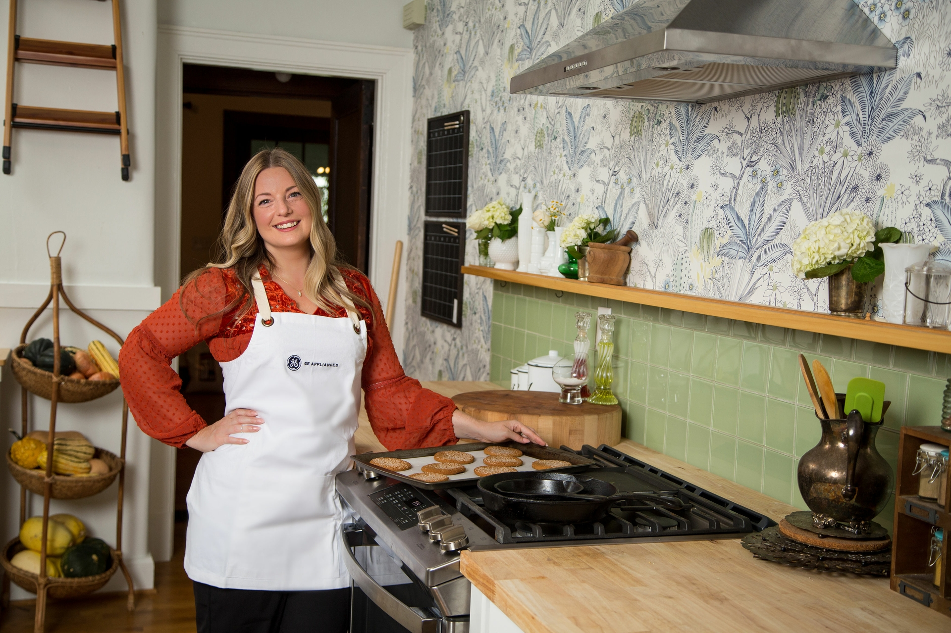 Damaris Phillips will also support the brand at various industry and community events including events in her hometown of Louisville, Ky. where GE Appliances is headquartered.