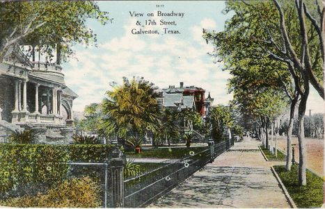 Forshey Collection Galveston Postcards