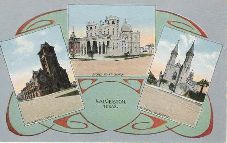 Galveston Historic Postcard from Forshey Collection