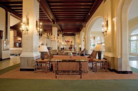 Lobby of Hotel Galvez