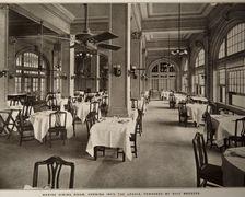 Hotel Galvez Restaurant (Circa 1911)