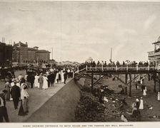 Hotel Galvez and Seawall (Circa 1911)
