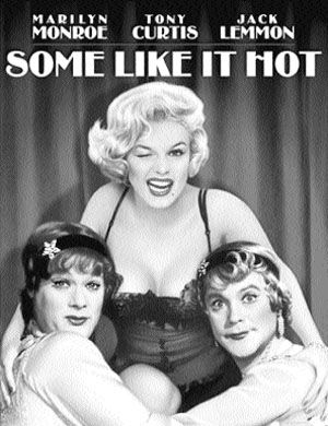 """Some Like It Hot"" Poster"