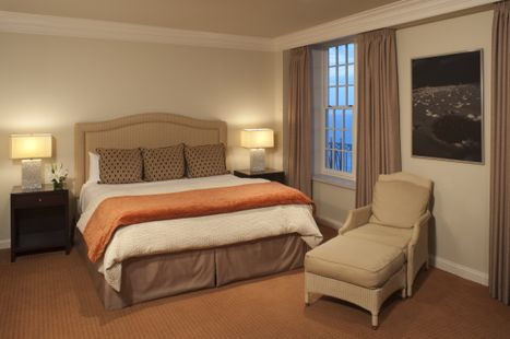 King Room at Hotel Galvez