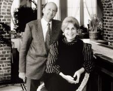 George and Cynthia Mitchell