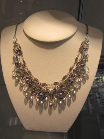 Ayala Bar Necklace on display at The Jewel Garden