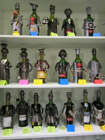 Wine Caddies Available at The Jewel Garden