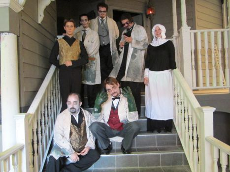 Haunted Mayfield Manor Characters
