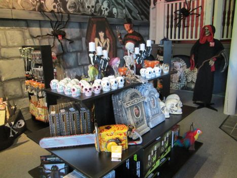 Gift Shop at Haunted Mayfield Manor