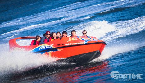 Jet Boat Thrill Rides at Pier 21