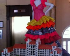 Hotel Galvez Celebrates 101st Anniversary with Custom Cake at Brunch