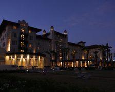 Hotel Galvez at Nightfall