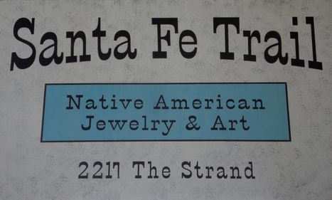 Santa Fe Trail sign with address low res