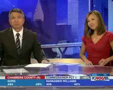KHOU-TV Interviews Galvez Bobby Hilton