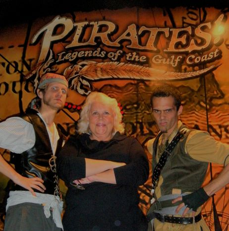 Joyce McLean and the pirates