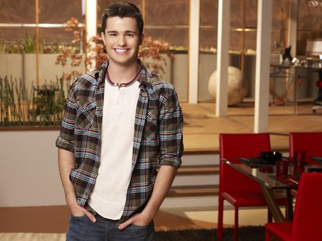 "Spencer Boldman from Disney XD's ""Lab Rats"""