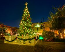 Holiday Laser Light Show Offers Free Fun in Historic Downtown Galveston