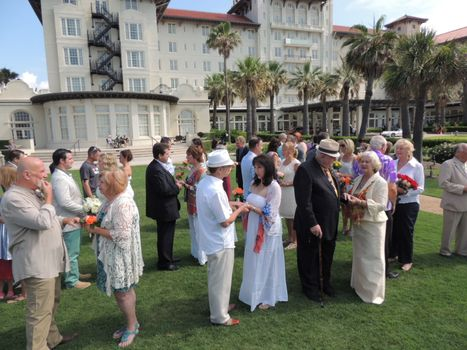 Vow Renewal at Hotel Galvez