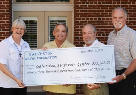 Seafarers Receives Check