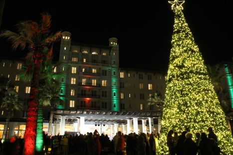 Galveston Holiday Lighting Celebration at Hotel Galvez