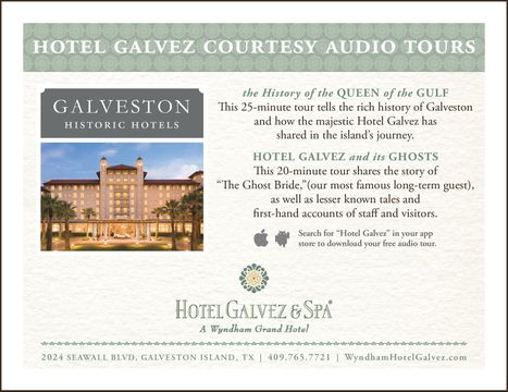Galvez Audio Tour Information Card