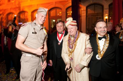 Aggie Moment at 2011 Mardi Gras