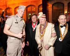 Tremont House Mardi Gras Party Given to Sea Aggies