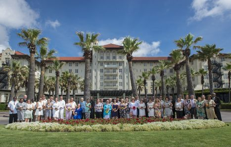 Hotel Galvez Annual Wedding Vow Renewal