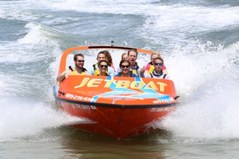 Jet Boat Thrill Ride at Pier 21
