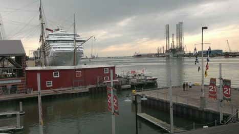 Pier 21 View of Cruise Ship
