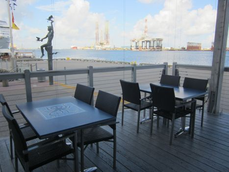 Pier 21 Restaurants Offer Harbor View