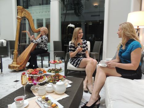 Guests-Enjoying-Tremont-Afternoon-Tea
