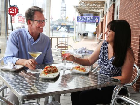 Happy Hour at Pier 21
