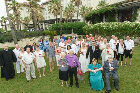 Hotel Galvez Annual Vow Renewal
