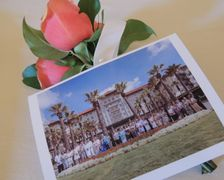 Hotel Galvez Requests the Honor of Your Presence for a Wedding Vow Renewal