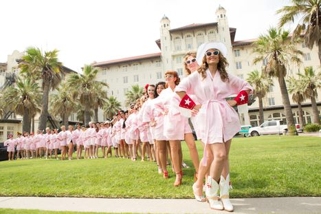Bathing Beauty Contestants Line Up for 2015 Beach Revue
