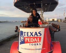 Texas Pedal Tours provides a Historic Tour of Galveston with a Twist of Entertainment and Exercise