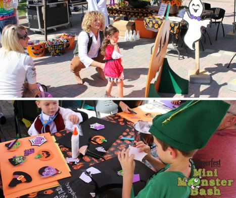 Arts and Crafts at the 6th Annual Mini Monster Bash