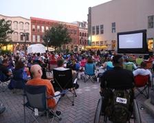 Movie Nite in Saengerfest Park
