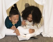 Blanket Fort and The Nocturals Book Entertain Kids