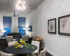 Dining and Living Space of The Quarters