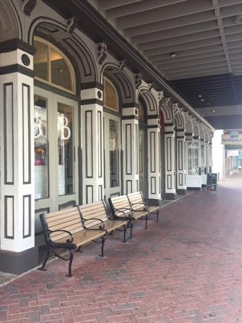 D & T Exterior Paint Storefront Side 8-29-18
