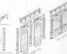 Cast Alum DT 05-29-91 Facade Restoration