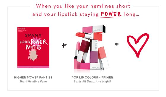 SPANX + Clinique Beauty Besties Power Pair- Higher Power Panties