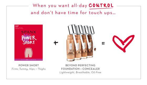 SPANX + Clinique Beauty Besties Power Pair- Power Short